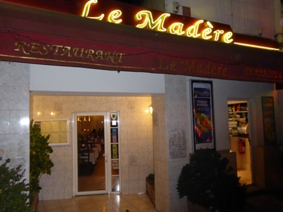 Restaurant Le Mad�re