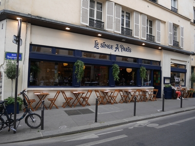 Restaurant le singe � paris
