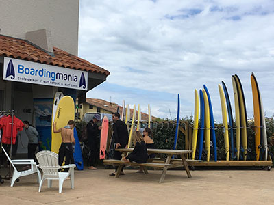 Ecole de surf Boardingmania